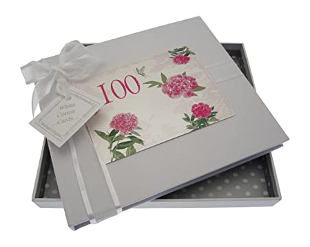 WHITE COTTON CARDS Quot100th Birthday