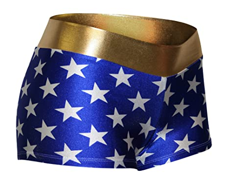93cb0727be8b4 Amazon.com  Dilly Duds Adult Blue and White Stars with a Gold Waist.  Perfect for Cosplay.  Clothing