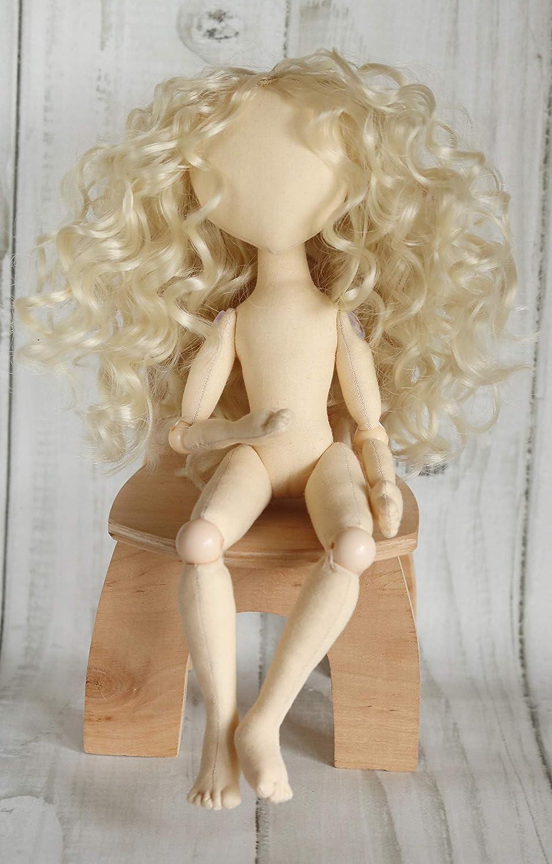 Body of the doll made of cloth Blank rag doll 13 handmade