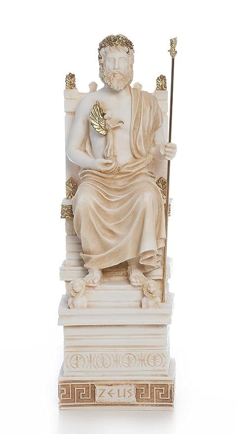 Dioses griegos Series: Olympian Zeus (Jupiter) de la Estatua de la ...