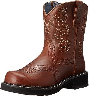 Amazon.com | Ariat Women's Fatbaby II Western Cowboy Boot | Mid-Calf