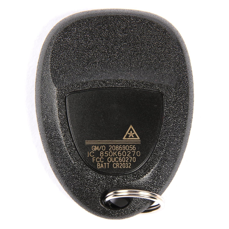 ACDelco 20869056 GM Original Equipment 3 Button Keyless Entry Remote Key Fob