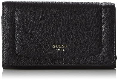 Guess, Porte-Monnaie Femme Noir Noir (Nero) Taille Unique  Amazon.fr   Chaussures et Sacs aff4457b535