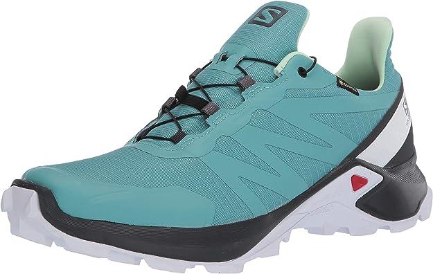Salomon Shoes Supercross GTX, Zapatillas de Running para Mujer ...