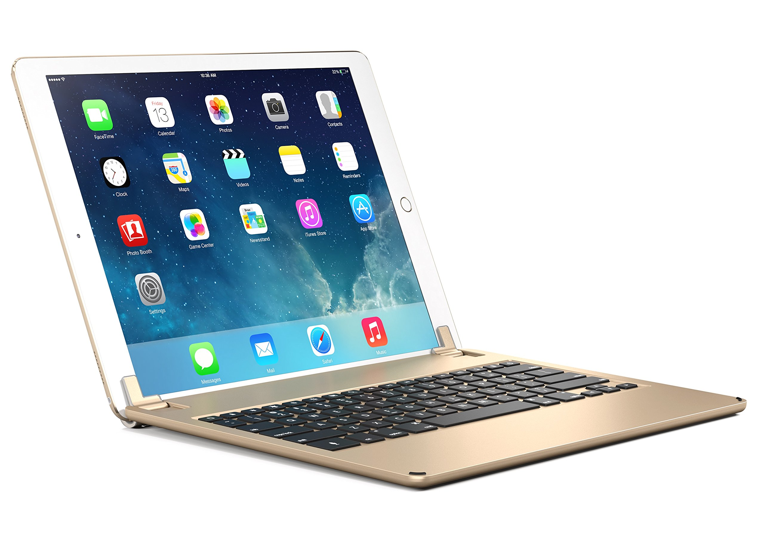 Brydge 12.9 Bluetooth Keyboard for 12.9'' iPad Pro (Gold) by Brydge (Image #1)