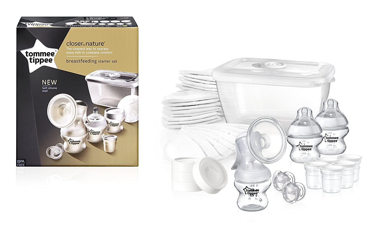 Tommee Tippee Closer to Nature Still-Starterset