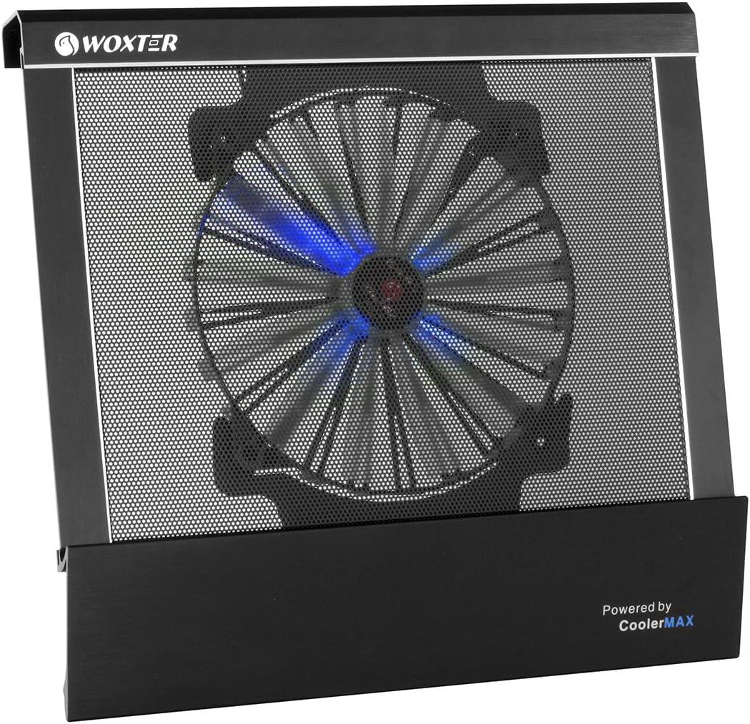 Woxter Cooling Pad 2700 - Base refrigeradora para Ordenador portátil, Color Negro: Amazon.es: Informática