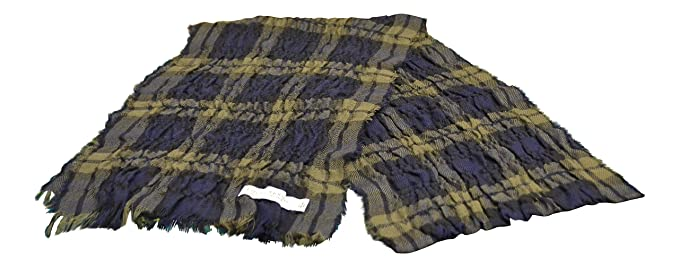 Lochcarron of Scotland - Echarpe - Femme Blue, Brown, Black Taille unique 536a549ecf6