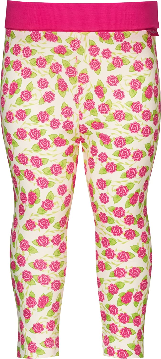 Playshoes Baby-Girls with Comfort Top Flower Leggings 410020