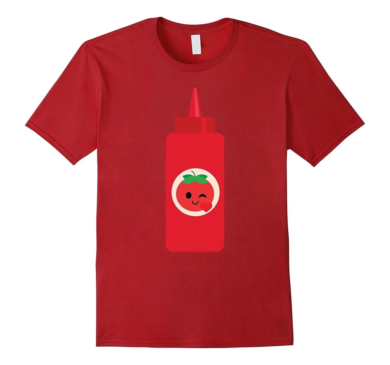 Ketchup Sauce Emoji Heart Love Eye Shirt Catsup T-Shirt Tee-CD