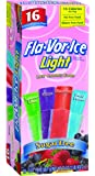 Flavor Ice Light Freezer Pops, 16 count (Pack of 8)