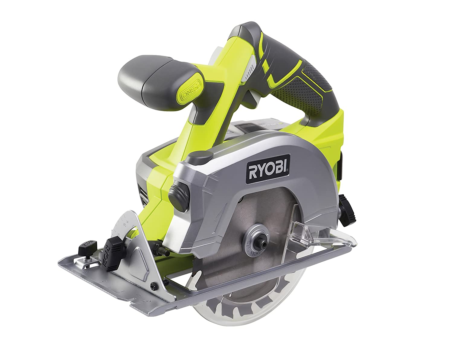 Ryobi rwsl1801m one circular saw 18 v body only greengrey ryobi rwsl1801m one circular saw 18 v body only greengrey amazon diy tools keyboard keysfo