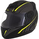 Pro Tork Capacete Evolution G6 Pro Neon Fosco 56 Preto/Amarelo Neon