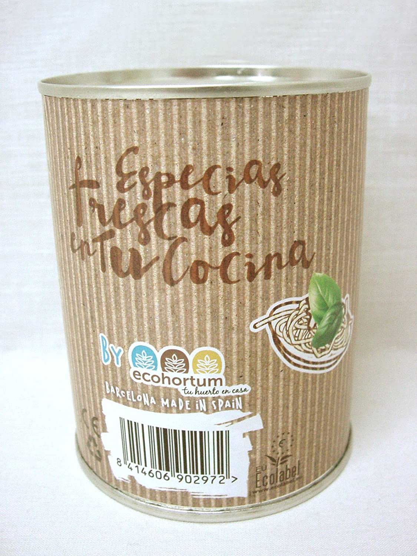 Pocket Garden SeedBox POT - Albahaca: Amazon.es: Hogar