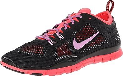 Nike Free 5.0 TR Fit 4, Baskets Mode Femme - Noir (Black/Lt ...