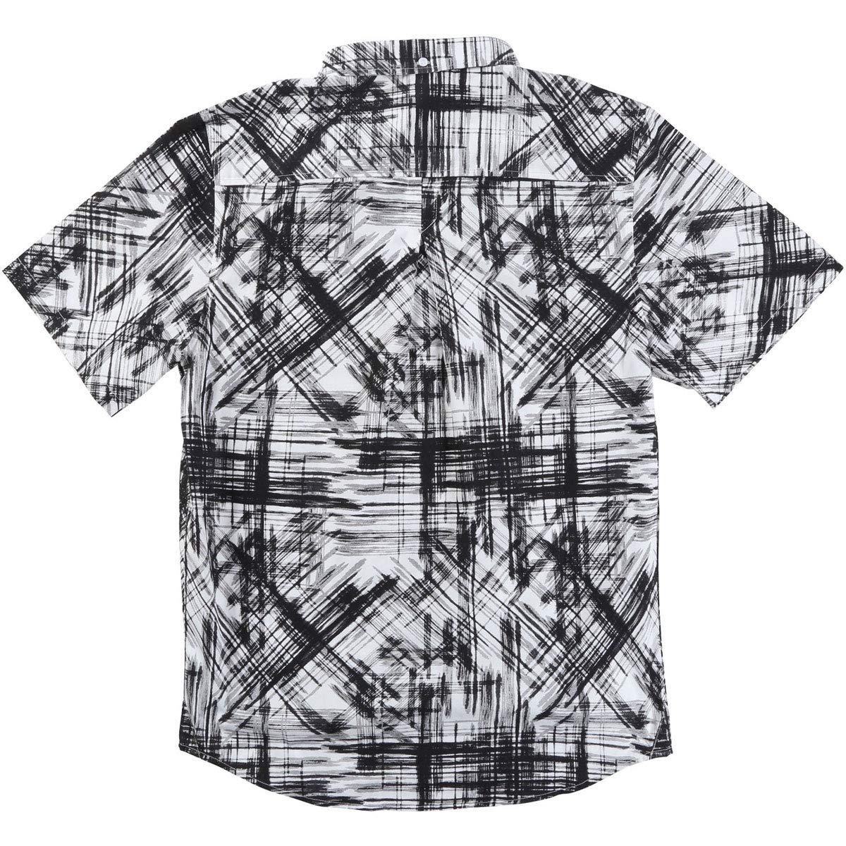 LRG Mens Parliament Short Sleeve Woven Shirt
