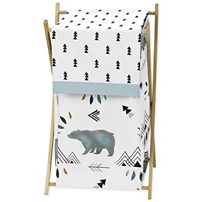 Baby Kid Clothes Laundry Hamper for Bear Mountain Watercolor Collection by Sweet Jojo Designs : Baby
