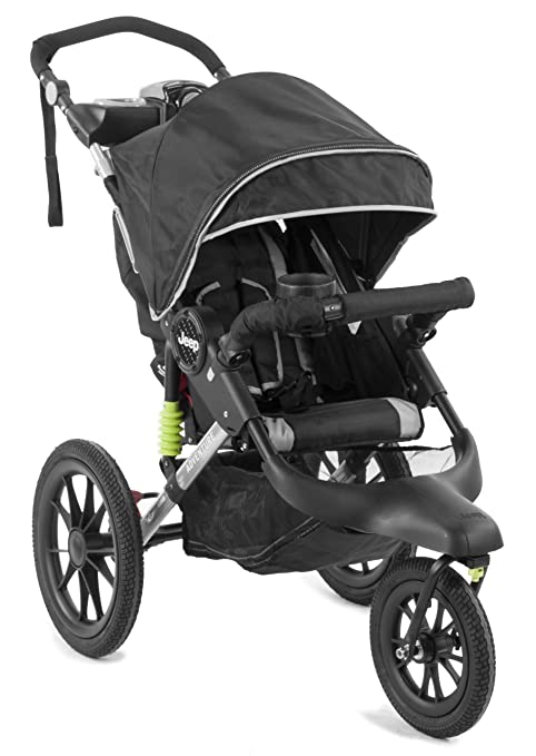 Buy Jeep Adventure Jogging Stroller Black Online At Low Prices In