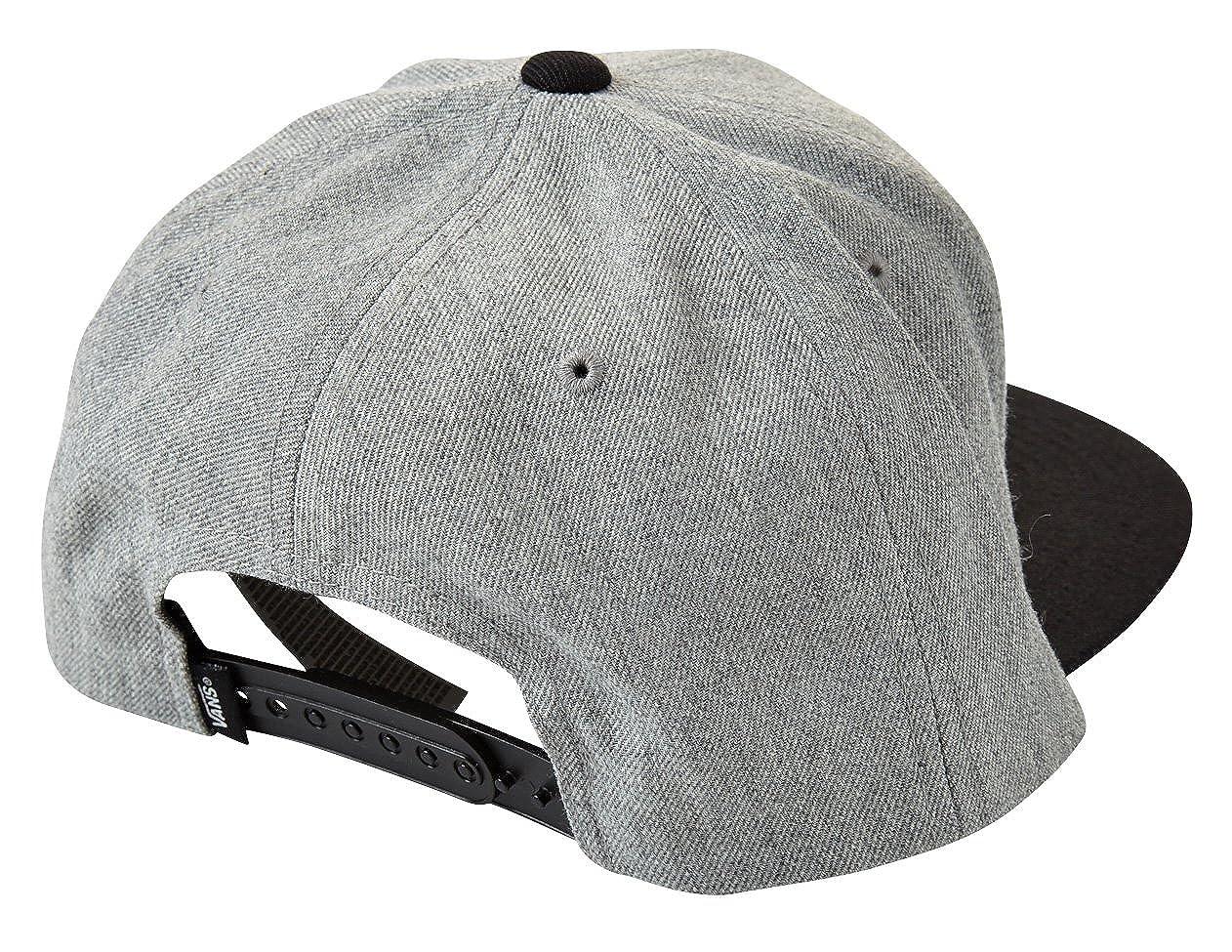 09557f6131948 Amazon | VANS バンズ キャップ Drop V II Snapback Cap メンズ【フリー HEGRY(ヘザーグレー×ブラック)】  [並行輸入品] | キャップ 通販