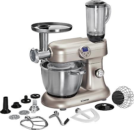 Bomann KM 379 CB - Robot de cocina (Acero inoxidable, Acero inoxidable) [Importado]: Amazon.es: Hogar