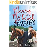 Marry Me for Real, Cowboy: a fake engagement Montana Ranches Christian Romance (Cavanagh Cowboys Romance Book 1)