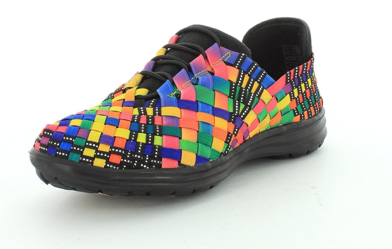 Bernie Mev Women's Victoria Walking Shoe B00KQ0EMTE 35 M EU|Black Multi
