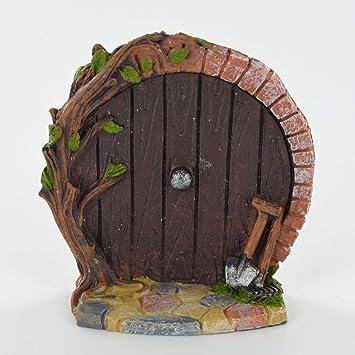 Prezents.com Miniature Violet Hobbit Porte - Arbre Décoration de ...