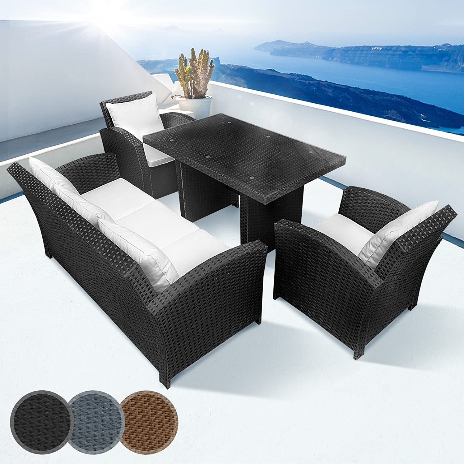 gartenm bel 4 teilig my blog. Black Bedroom Furniture Sets. Home Design Ideas