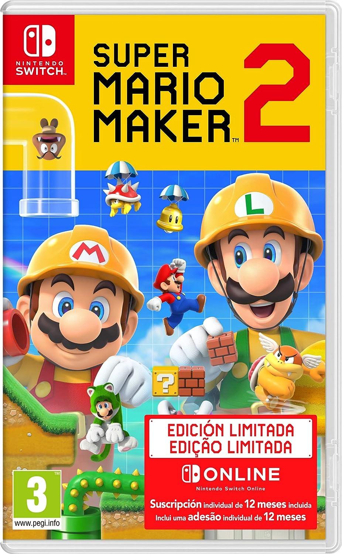 Super Mario Maker 2: Pack de juego + Suscripción de 12 meses a ...