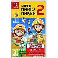 Super Mario Maker 2: Pack de juego + Suscripción de 12 meses a Nintendo Switch Online (Edición limitada)
