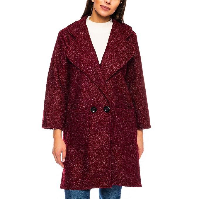 cappotto donna bouclé