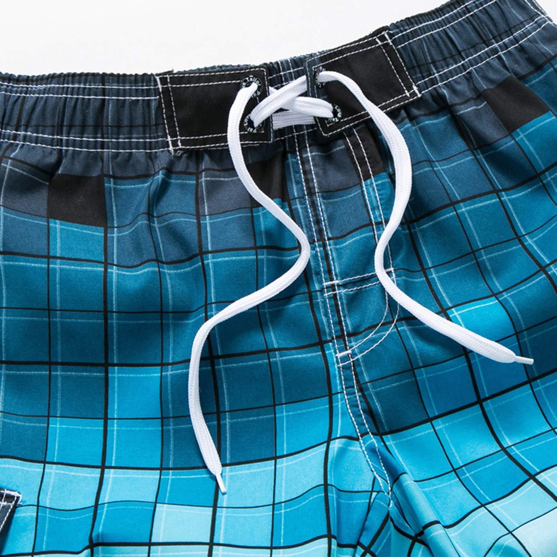 disiren Men Swim Shorts Surf Board Shorts Summer Sport Beach Short Pants Quick Dry Boardshort