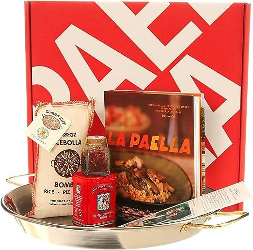 Paella pan 15cm Profesional Esmaltado Acero Pan auténtico producto español