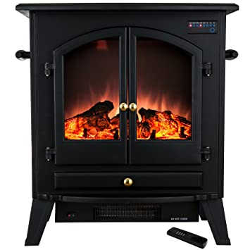 freestanding electric fires uk townsend free standing fireplace stove fireplaces golden vantage portable adjustable insert heat