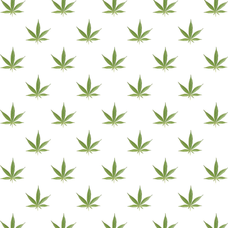 Marijuana Leaf Kraft Present Gift Wrap Wrapping Paper