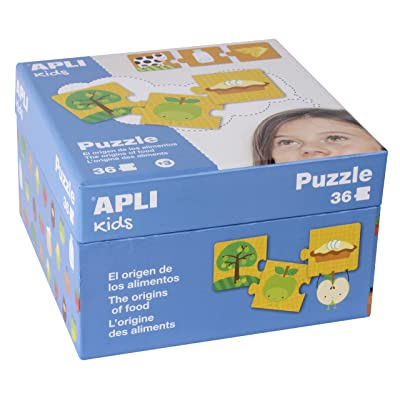 Apli Kids 14360 les origines de nourriture puzzle Ensemble