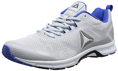 AHARY RUNNER - Laufschuh Neutral - white/vital blue/collegiate navy Ai1Tk