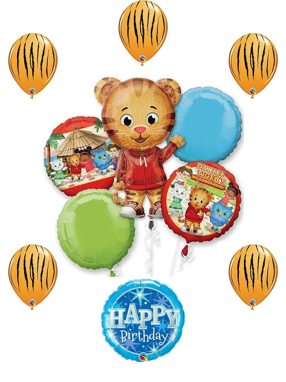 Amazon Com Daniel Tiger Birthday Party Balloon Decoration