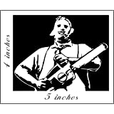 LEATHERFACE Stickers Cut Vinyl Decal