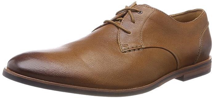 Clarks Broyd Wing, Chaussures de Ville à Lacets Pour Homme Vert Green - Vert - Green,