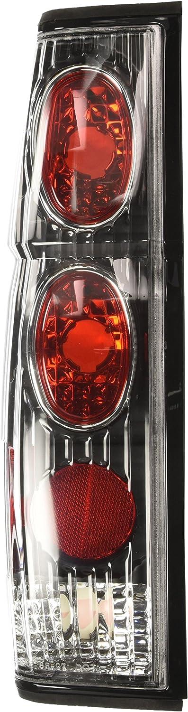 Black//Clear Pair Winjet WJ20-0041-04 Altezza Tail Lights