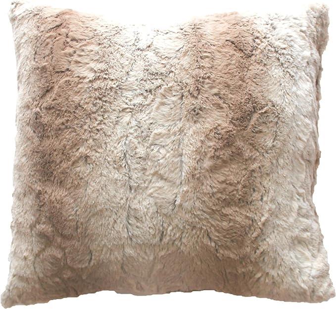 douceur dint/érieur plaid 180x220cm imitation fourrure siberie naturel