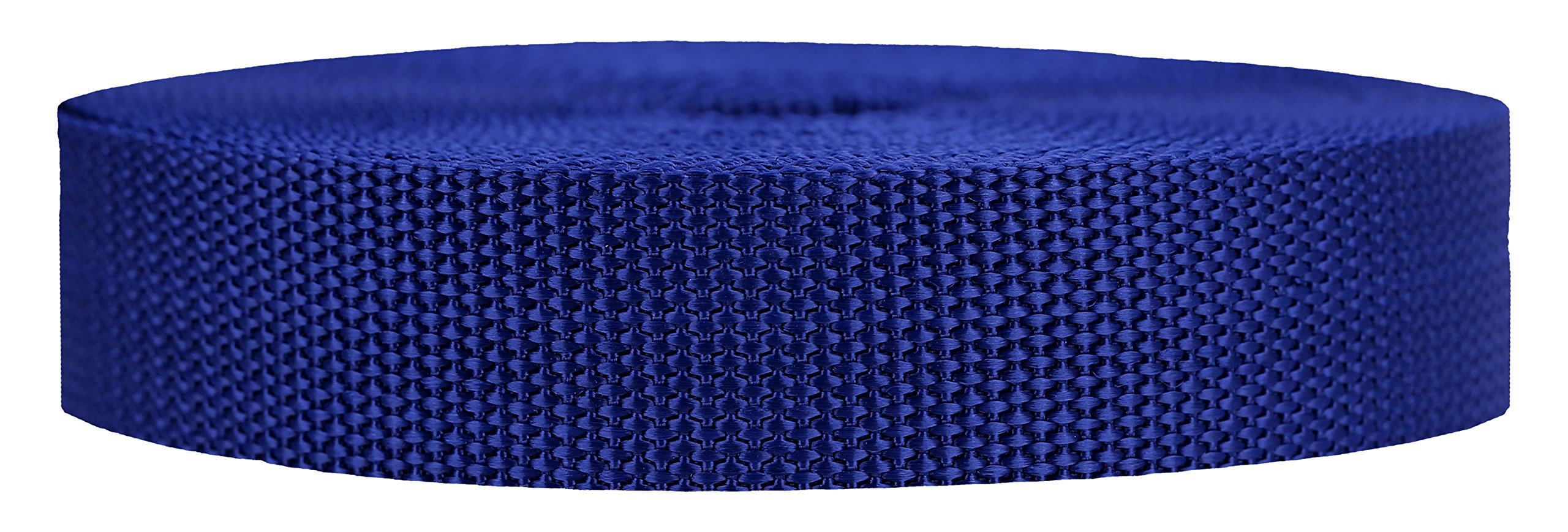 Strapworks Heavyweight Polypropylene Webbing - Heavy Duty Poly Strapping for Outdoor DIY Gear Repair, 1 Inch x 50 Yards - Navy Blue by Strapworks