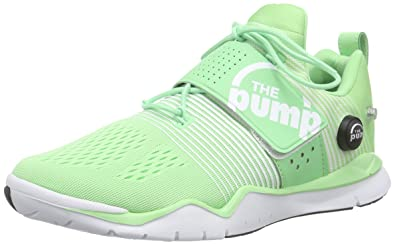 Reebok Zpump Fusion TR Green Womens Training Fitness Shoes 2ff68718a