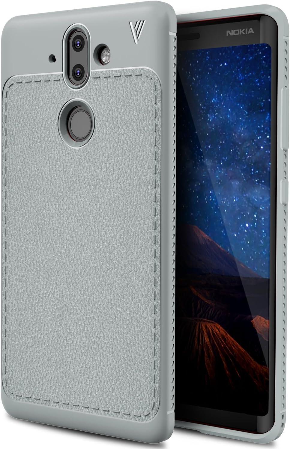 Nokia 8 Sirocco Funda, KuGi anti-rasca la Carcasa del teléfono TPU ...