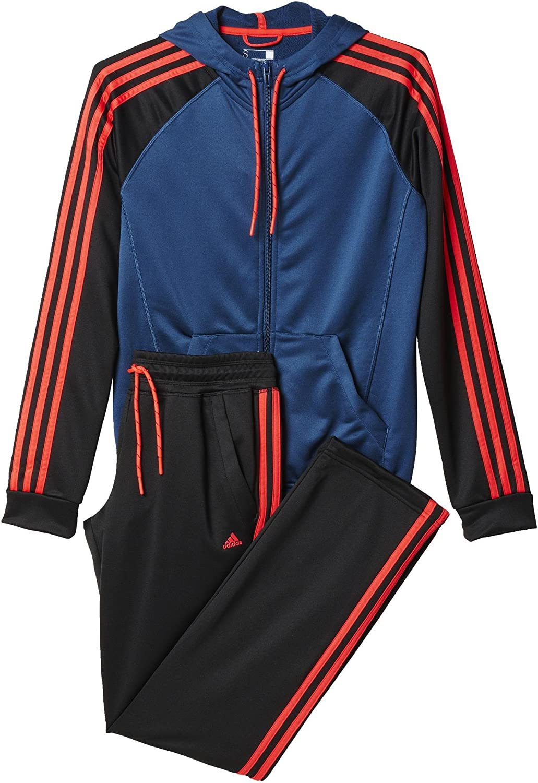 adidas Plain Tricot Damen Trainingsanzug, Größen Textil:2XLS