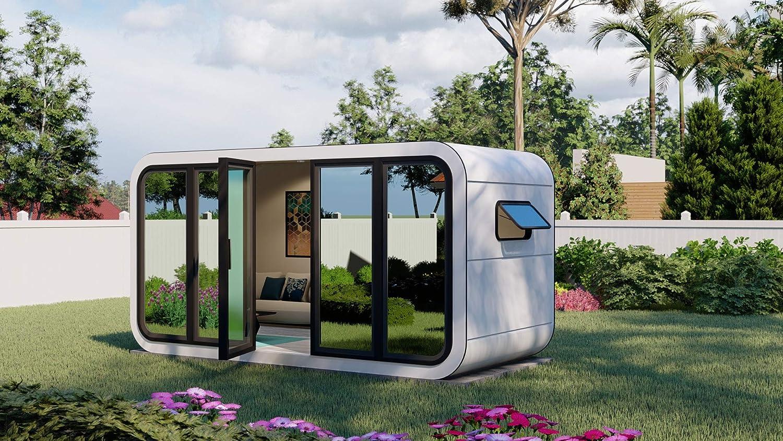 Prefab Backyard Office Shed Pod - Productivity Office by YARDADU