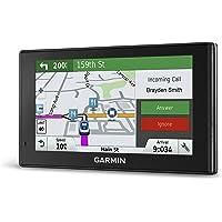 Garmin DriveSmart 60 NA LMT Sistema de navegación GPS con mapas de por Vida y tráfico, Reconstruido Certificado, 6.1 Inches, Negro