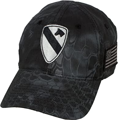 5d2d4919e660a Amazon.com  Military Shirts U.S. Army 1st Cavalry Division Kryptek ...