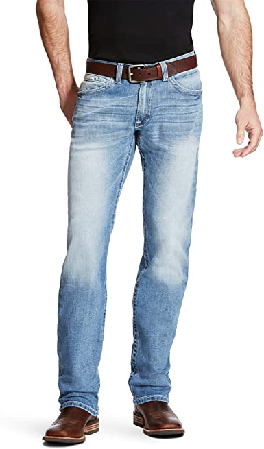 Amazon Com Ariat Men S M2 Relaxed Boot Cut Jeans Clothing